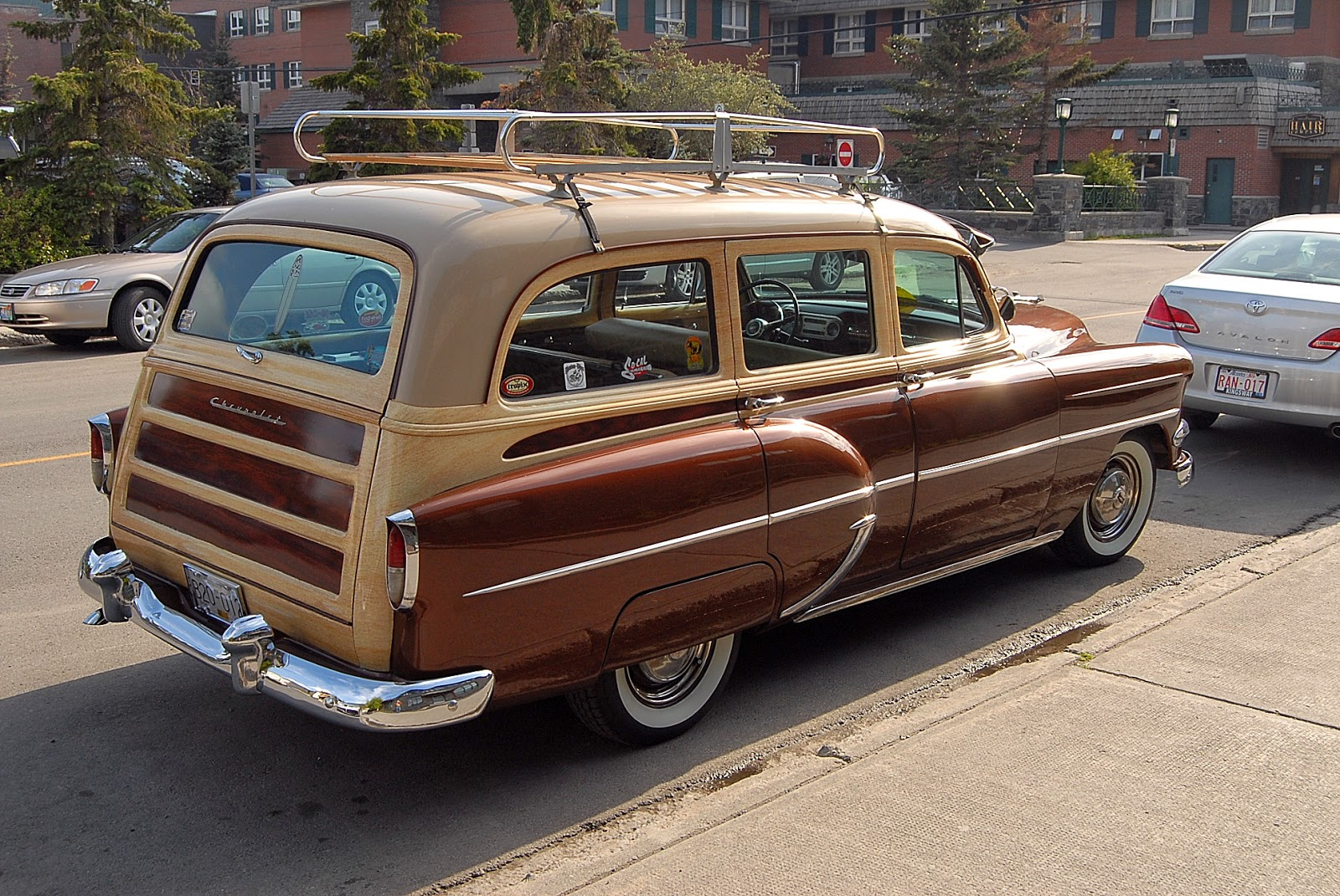 autoliterate 1954 chevrolet station wagon banff. Black Bedroom Furniture Sets. Home Design Ideas