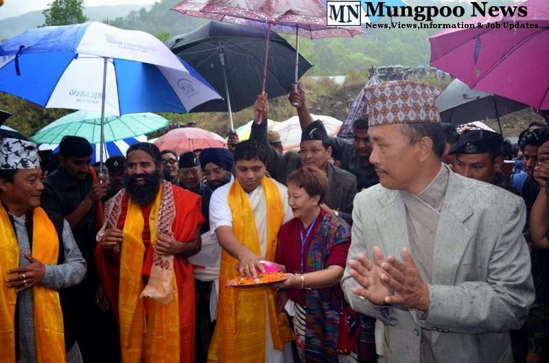 Bimal Gurung Baba Ramdev Acharya Balkrishna Ratan Thapa