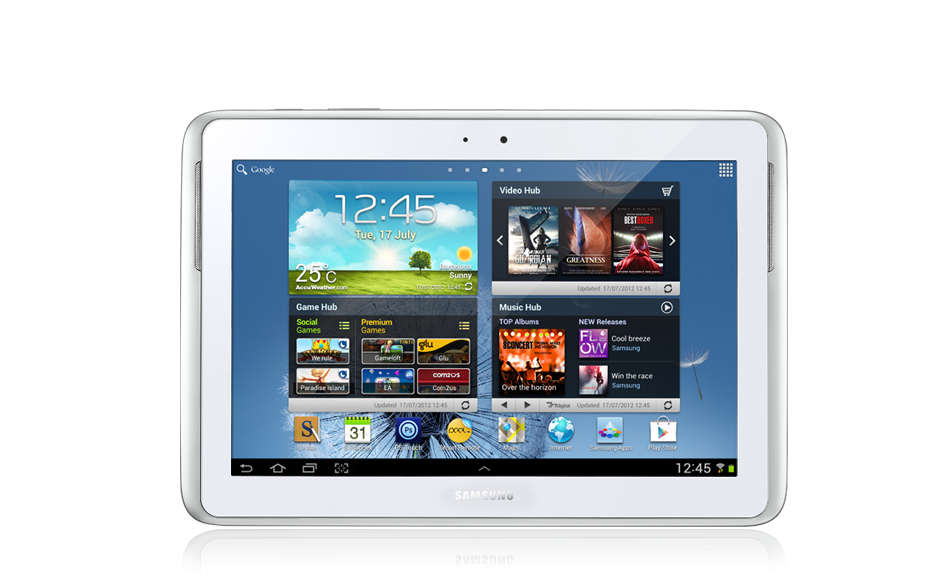 how to change time on samsung galaxy tablet