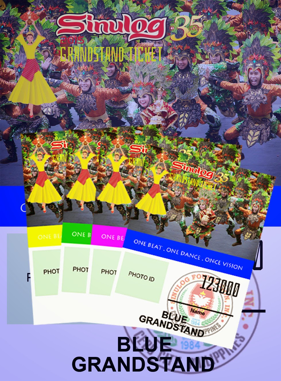 buy sinulog 2015 grandstand tickets online prices and details
