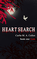 Heart Search, carlie m a cullen, cover design, carlie cullen
