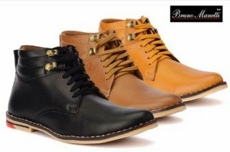 bruno manetti ankle boots for men