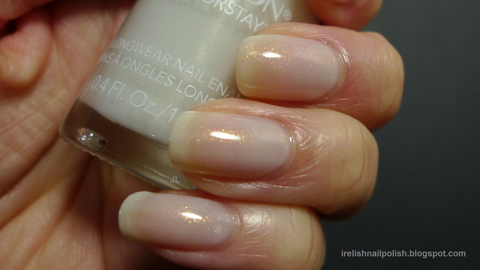I relish nail polish revlon colorstay longwear calla lily calla lily cl is a super sheer white with a golden shimmer i layered two coats of calla lily over orlys sheer beauty plain sheer white and heres how prinsesfo Image collections