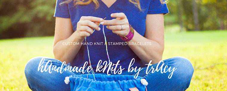 hAndmAde kNits by trAcy