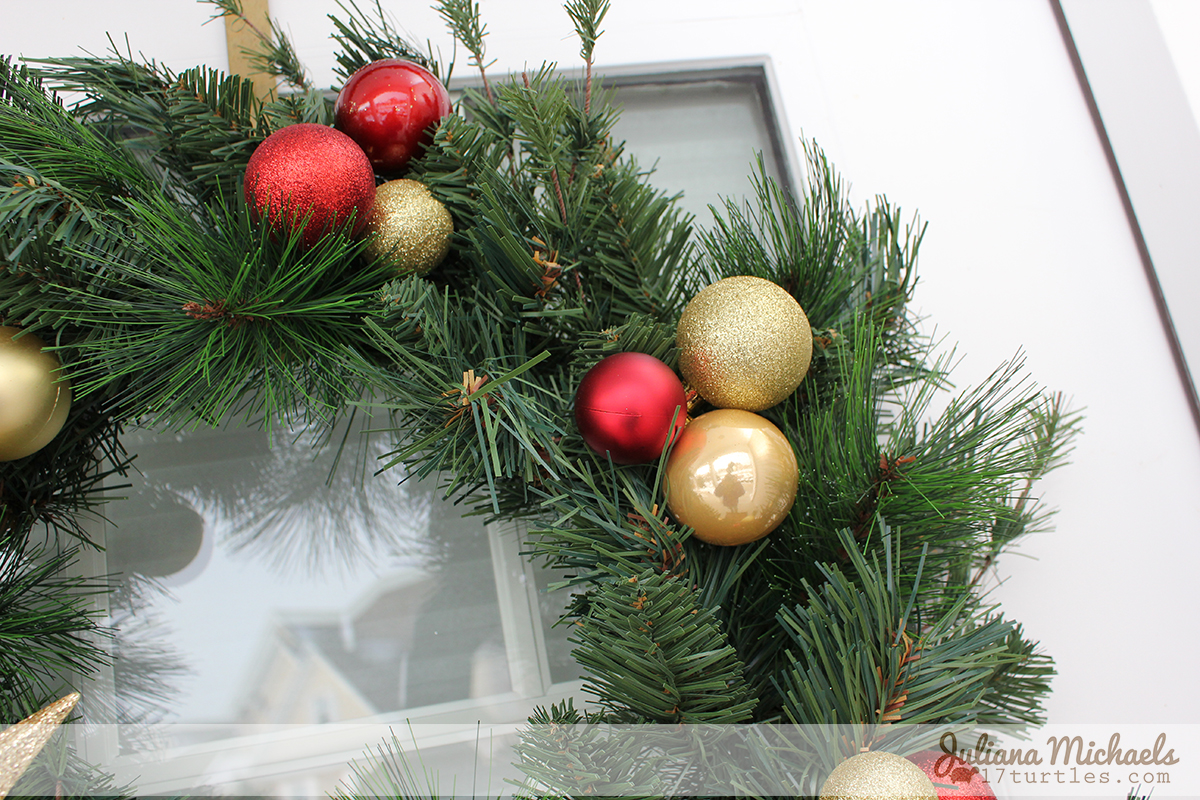 dollar tree christmas wreath and garland by juliana michaels - Michaels Christmas Wreaths