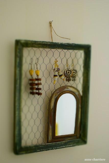 www.annecharriere.com, DIY organizar pendientes,