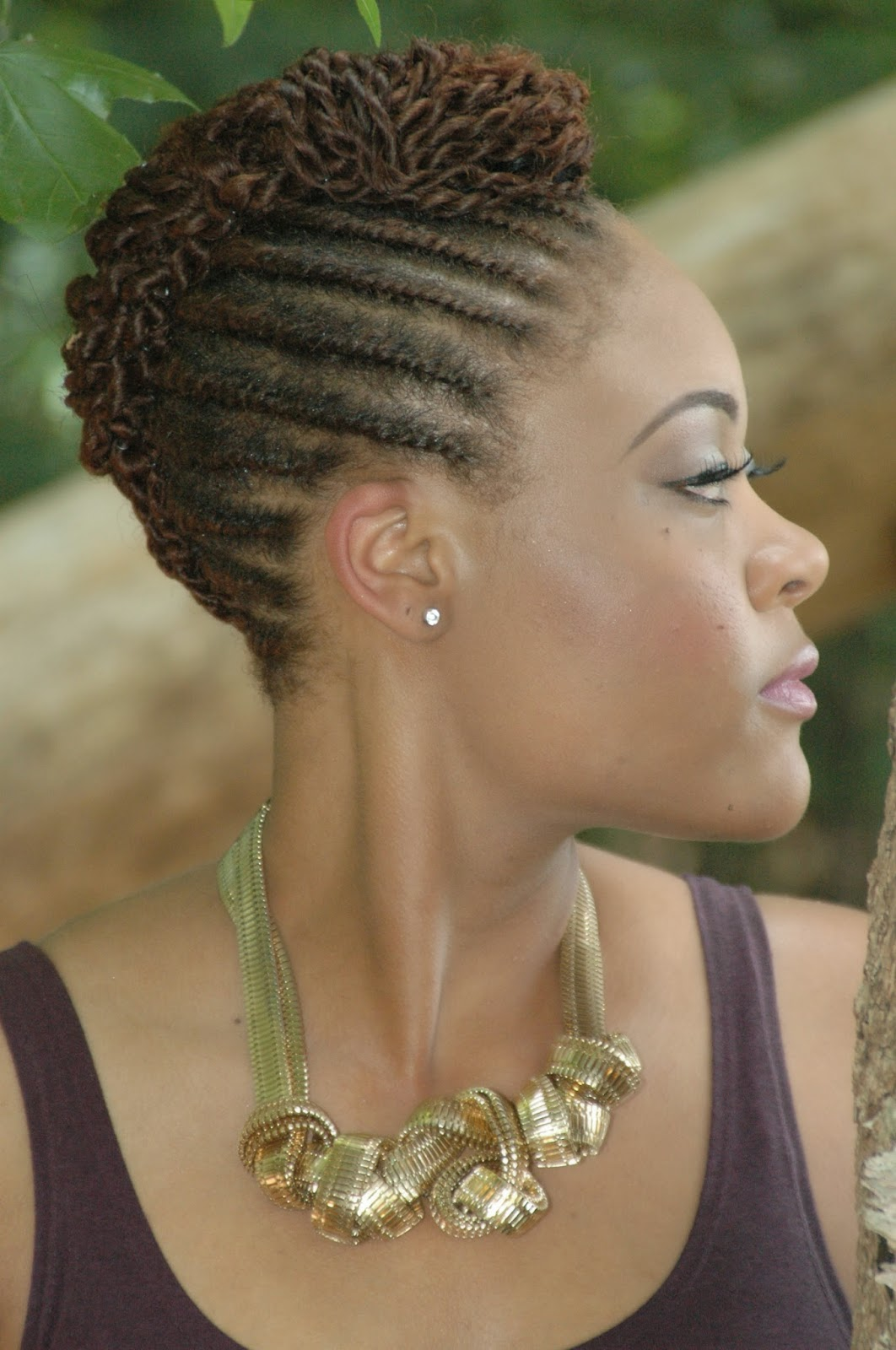 Style & Beat: Natural Hairstyles for the Summer