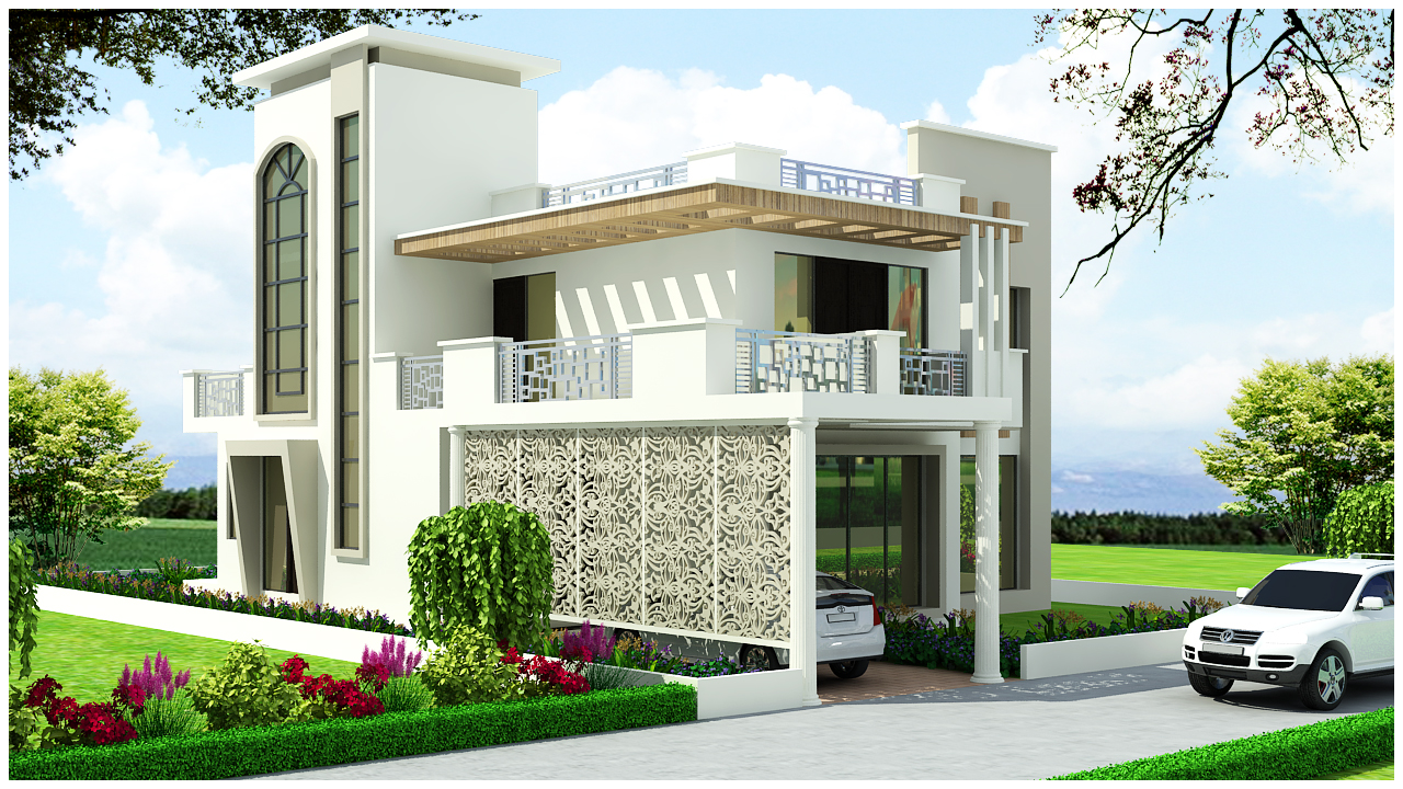 House plan and design drawings provider india duplex for Duplex house india