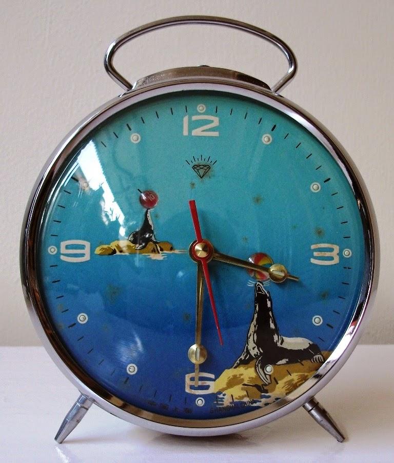 Jam weker Singa Laut