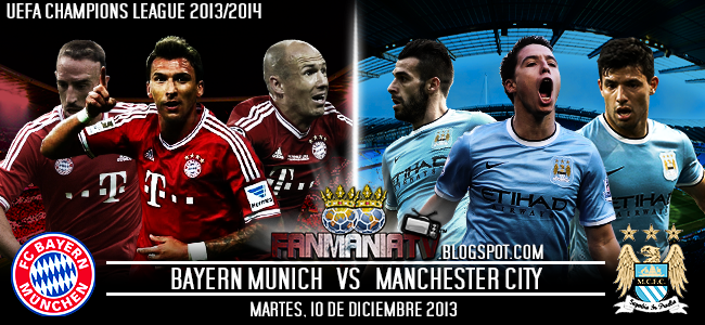 Champions League: Bayern Munich vs Manchester City