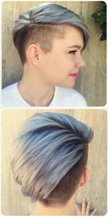 Partially shaved hairstyles! Images and Video Tutorials!