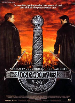 Los inmortales: Juego final, Queen, Adrian Paul, Christopher Lambert, Russell Malcahy