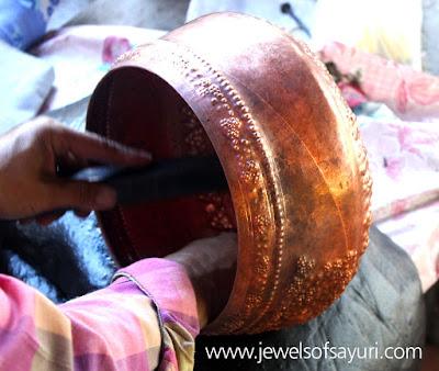 copper repousse