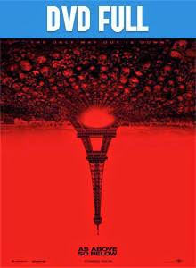 Así en la Tierra como en el Infierno DVD Full Español Latino 2014