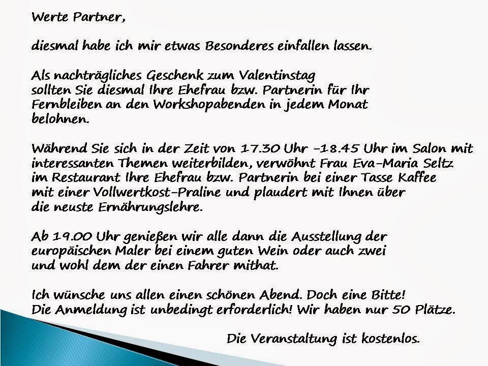cluster für energieeffizienz: einladung zum 02.workshop 2014, Einladung