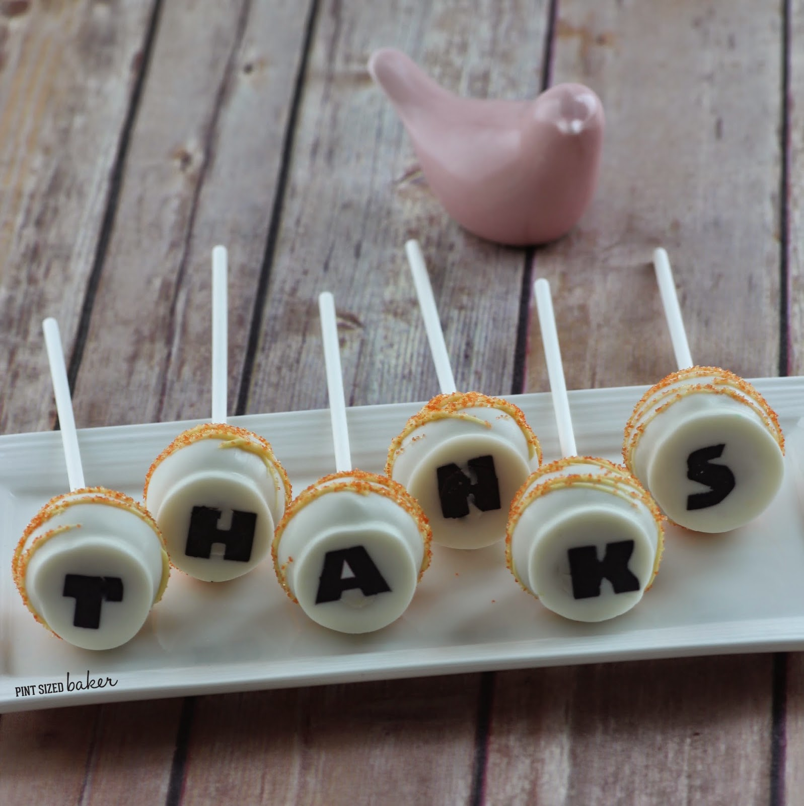 "How to make ""Secret Message"" Cake Pops from Pint Sized Baker"