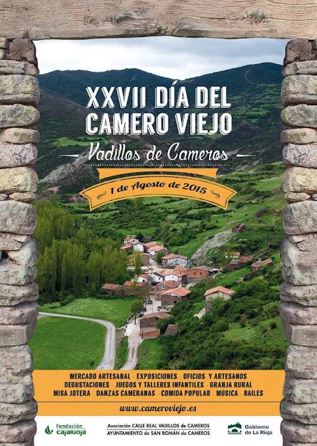 XXVII Día del Camero Viejo: Vadillos de Cameros, 1 de agosto de 2015.