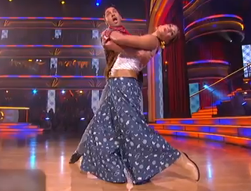 Hope Solo dancing with the stars pic week 4: The Foxtrot