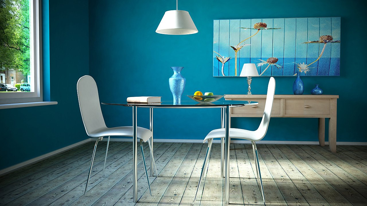 Not for boring decoraci n en turquesa for Colores para pintar puertas de interior