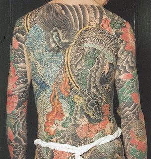 Tatuagens chinesas em volta