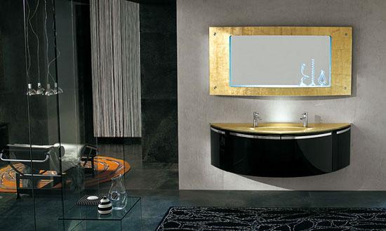 diseos de bao ardeco tambin con espejos modernos grifos y lavabos con formas modernas y colores tambin se utiliza la pared de mosaico with cuartos de bao de