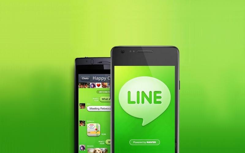 Tampilan di smartphone - Apa Itu Line? Pengertian / Arti Katanya Adalah - Android