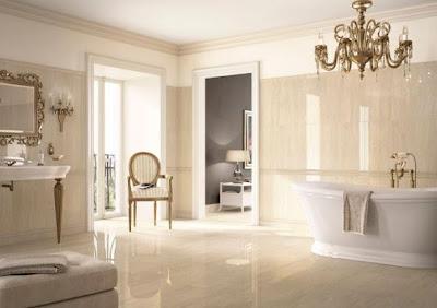 Cuarto de baño beige