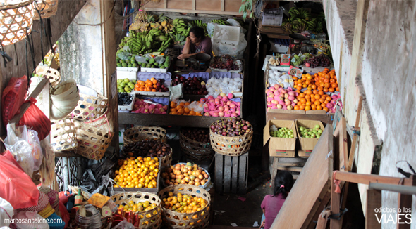 Mercado central de Ubud Indonesia