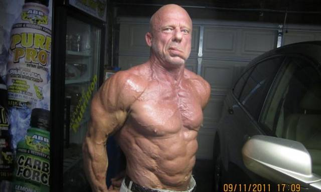 60 Years Old Bodybuilder Andreas Kahling Ritemail