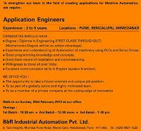 B&R Application Engineer Jobs
