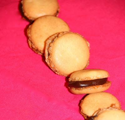 Macarons de xocolata