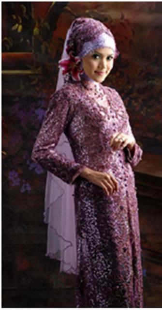 baju pengantin modern trendy