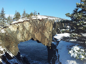 On Eastcoast trail, and some winter.
