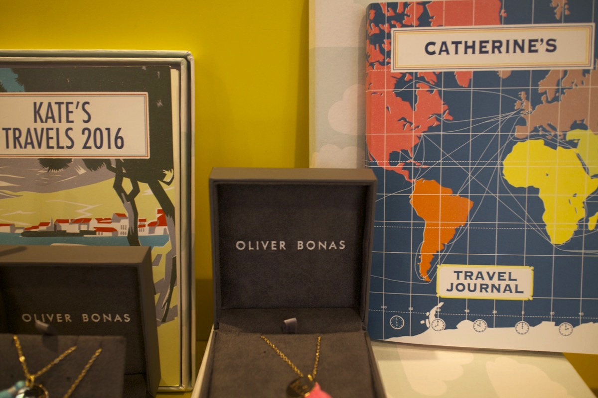 oliver bonas Christmas gifts travel journal