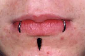 Piercing na Boca cuidados