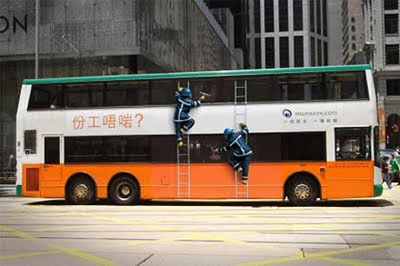 Amazing advertising on buses 14