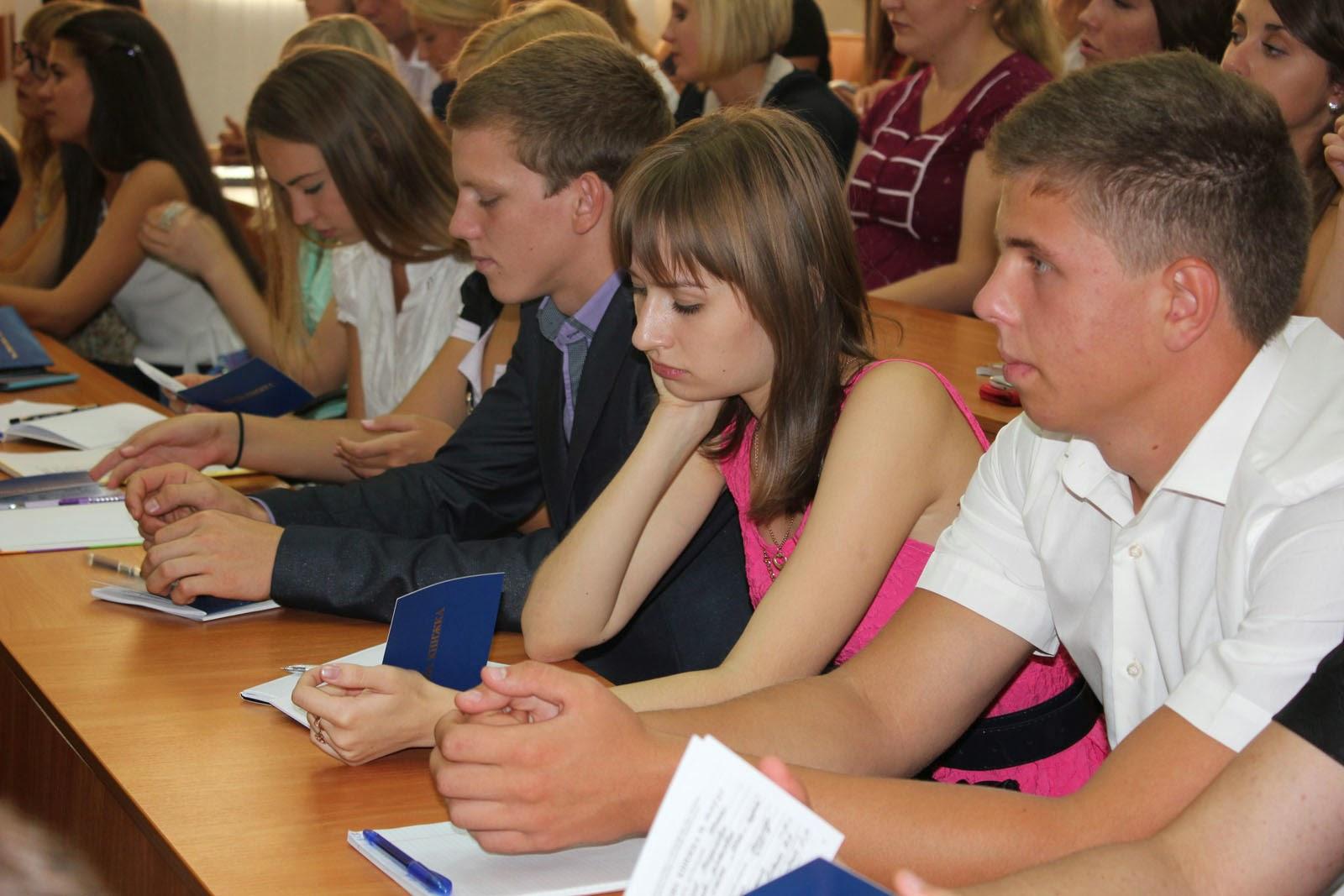 Посвята у студенти на обліково-фінансовому факультеті. Фото 9.