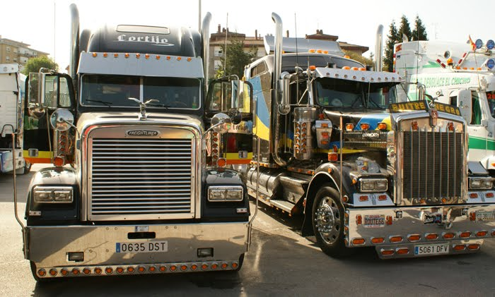 camioens modernos.