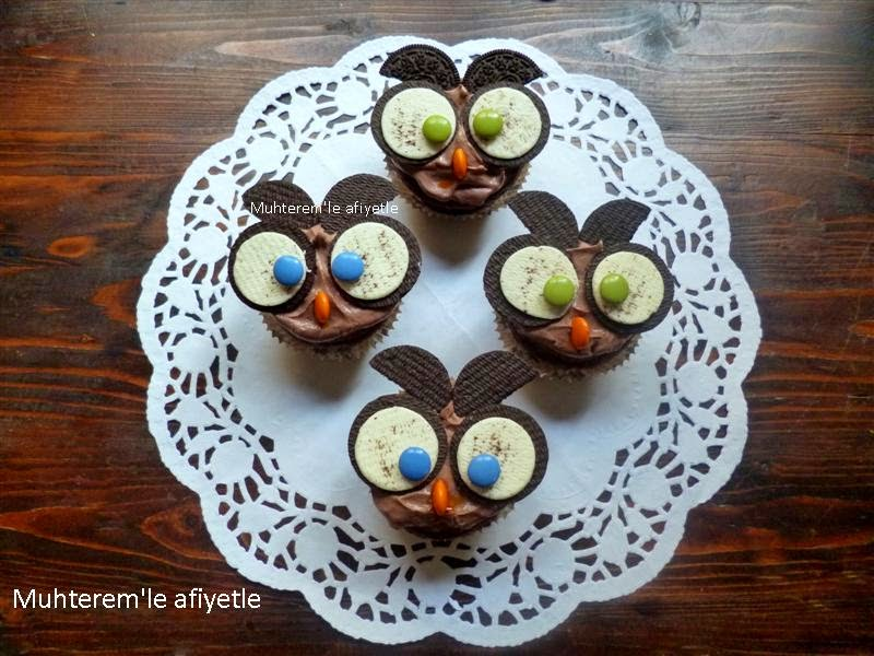 Oreo bowl muffin