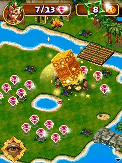 Diamond Island 2 game petualangan Java dan Symbian