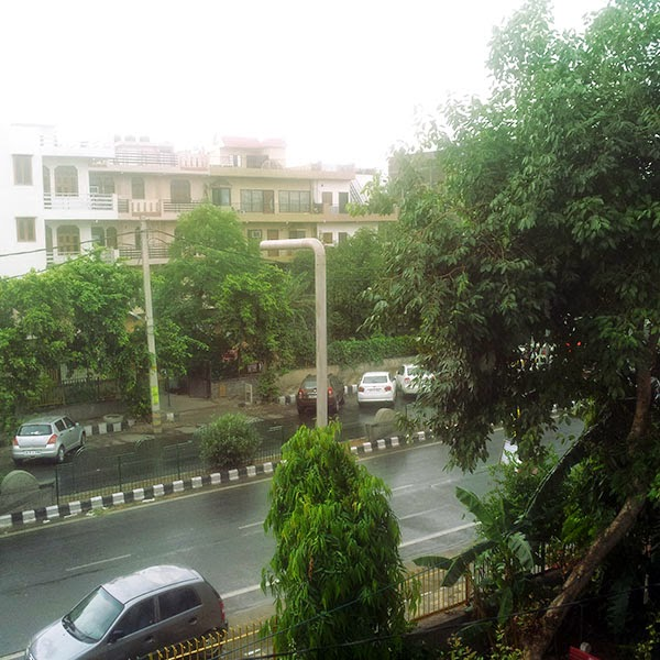 Arrival of Monsoon in Delhi: Day 44 of 100 Happy Days