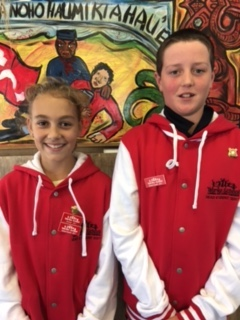 2017 Head Students: Jennifer and Troy