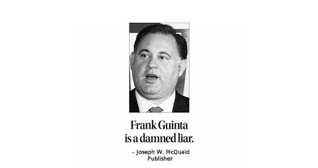 Frank Guinta Coniues To Lie-He Should Resign