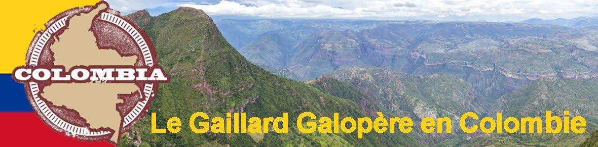 Le Gaillard Galopère en Colombie