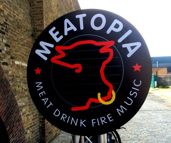 Meatopia at Tobacco Dock, London