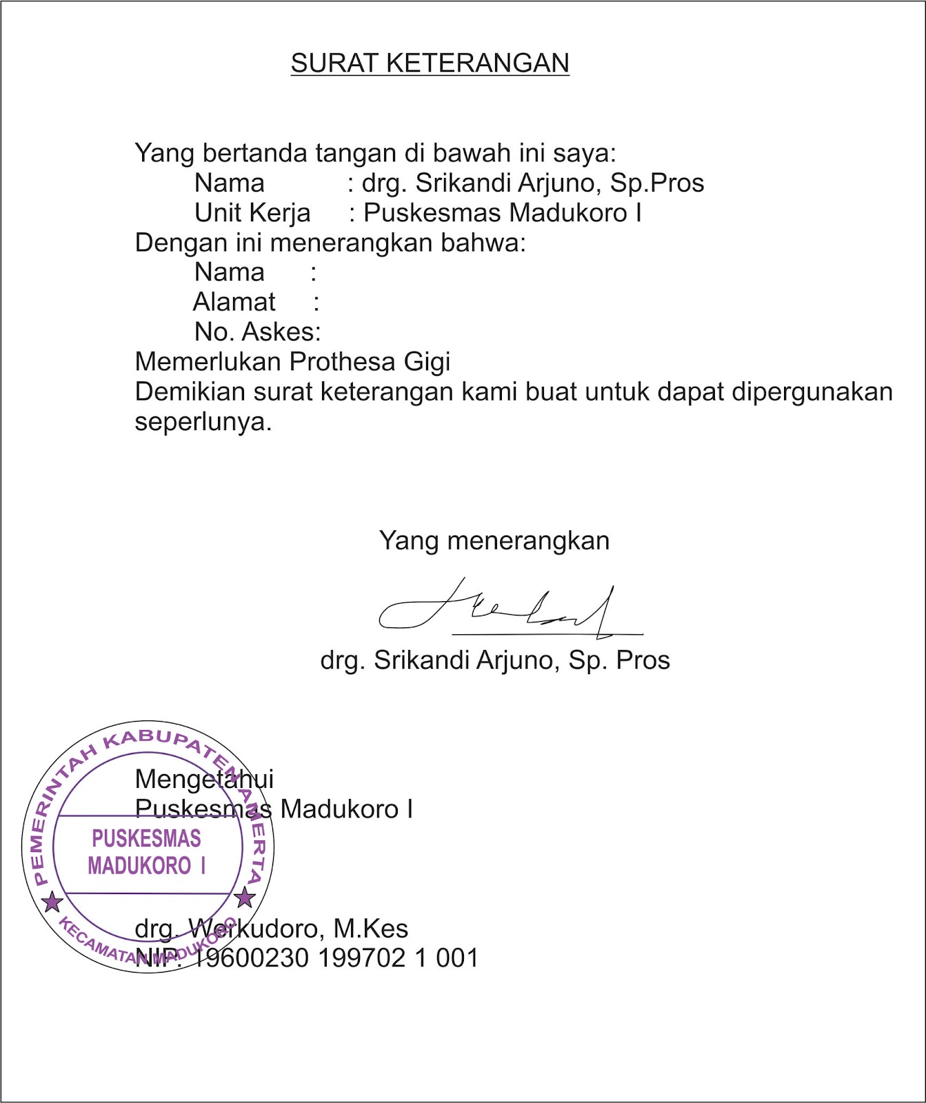 Pdgi Cabang Wonogiri Februari 2012