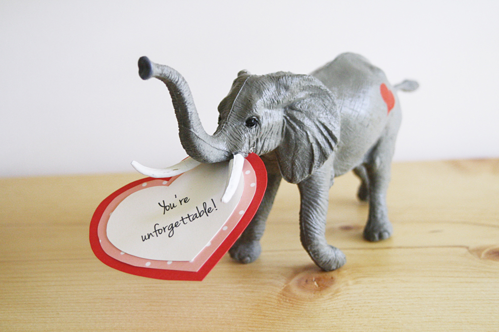 diy toy animal valentines - Valentines Animals