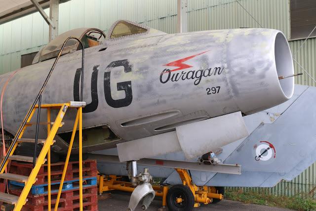 Dassault MD 450 Ouragan N°297UG