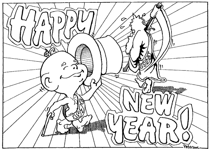 New Year Coloring Contest, 1975 title=