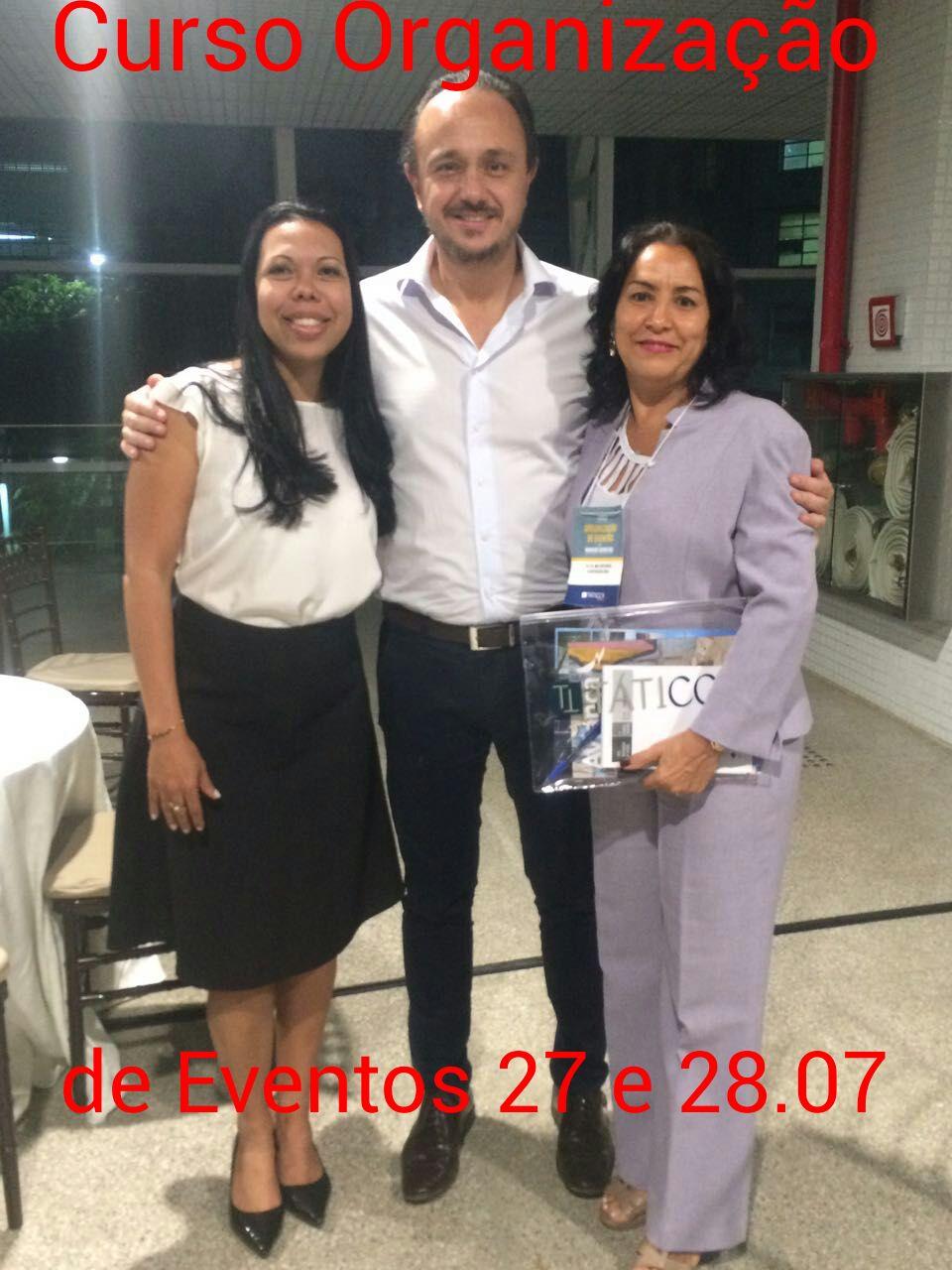 Curso Organização de Eventos,27 e 28.07.2017